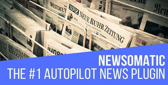 Newsomatic - Automatic News Post Generator Plugin for WordPress v2.4.4 Nulled